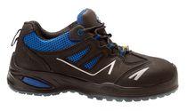 SANITA-Sicherheits-Arbeits-Berufs-Schuhe, Halbschuhe, Gemstone, S1P, ESD, schwarz/blau