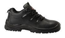 SANITA-Sicherheits-Arbeits-Berufs-Schuhe, Halbschuhe, Latite, S3, schwarz