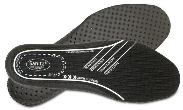 SANITA-Schuh-Zubehör, Einlegesohlen, schwarz