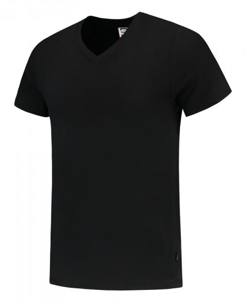 TRICORP-T-Shirts, V-Ausschnitt, Slim Fit, 160 g/m², schwarz
