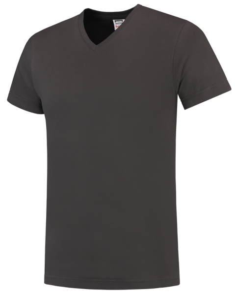TRICORP-T-Shirts, V-Ausschnitt, Slim Fit, 160 g/m², darkgrey