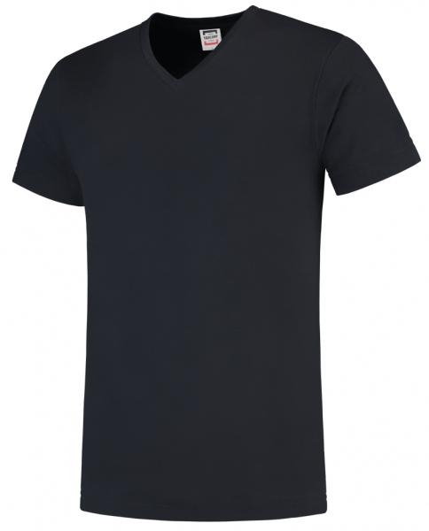 TRICORP-T-Shirts, V-Ausschnitt, Slim Fit, 160 g/m², navy