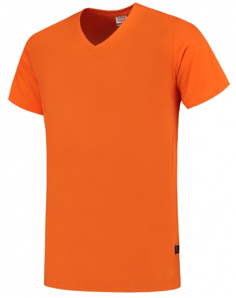TRICORP-T-Shirts, V-Ausschnitt, Slim Fit, 160 g/m², orange