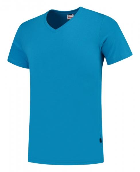 TRICORP-T-Shirts, V-Ausschnitt, Slim Fit, 160 g/m², turquoise