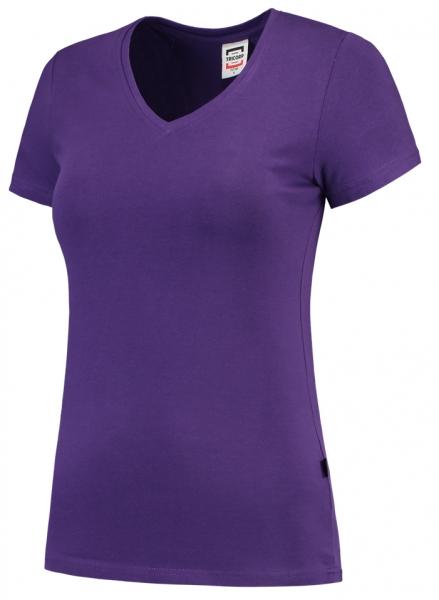 TRICORP-Damen-T-Shirts, V-Ausschnitt, 190 g/m², purple
