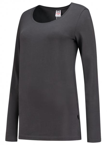 TRICORP-Damen-T-Shirts, langarm, 190 g/m², darkgrey