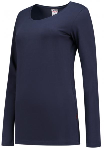 TRICORP-Damen-T-Shirts, langarm, 190 g/m², dunkelblau