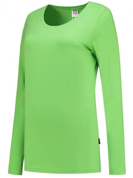 TRICORP-Damen-T-Shirts, langarm, 190 g/m², lime