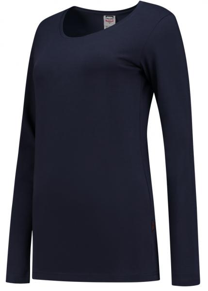TRICORP-Damen-T-Shirts, langarm, 190 g/m², navy
