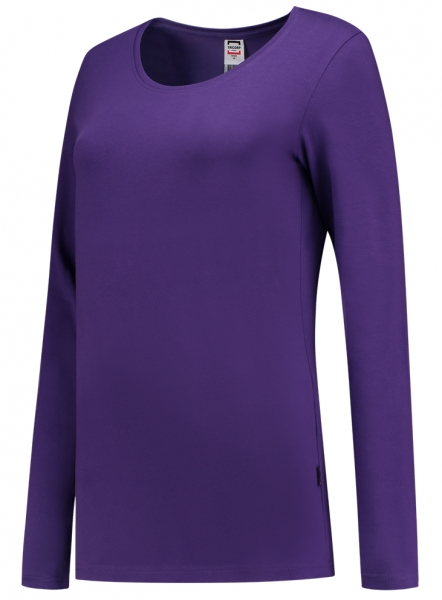 TRICORP-Damen-T-Shirts, langarm, 190 g/m², purple