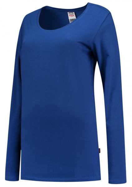 TRICORP-Damen-T-Shirts, langarm, 190 g/m², royalblau