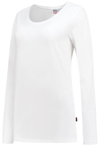 TRICORP-Damen-T-Shirts, langarm, 190 g/m², weiß