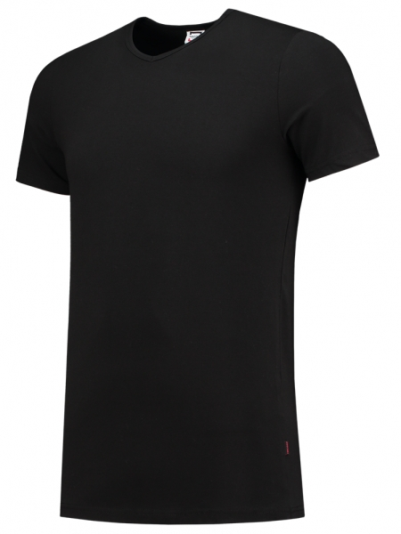 TRICORP-T-Shirts, V-Ausschnitt, 170 g/m², schwarz