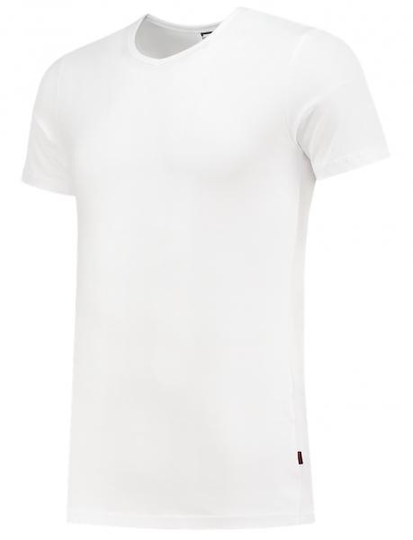 TRICORP-T-Shirts, V-Ausschnitt, 170 g/m², weiß