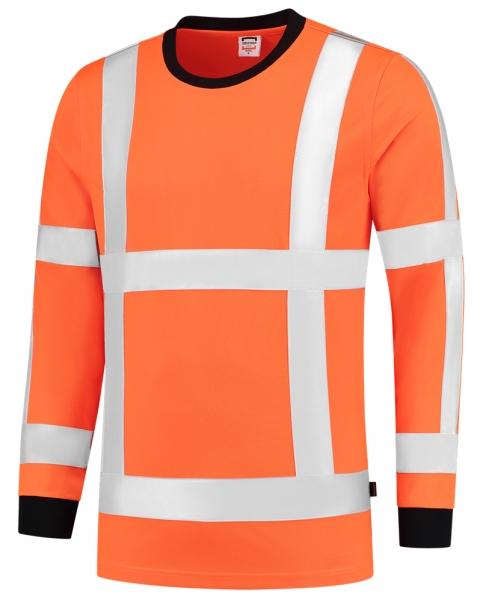 TRICORP-Warn-Schutz-T-Shirt, langarm, 180 g/m², warnorange