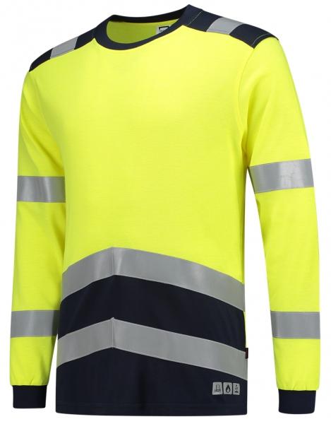 TRICORP-Warn-Schutz-T-Shirt, Mulitnorm, langarm, 200 g/m², warngelb