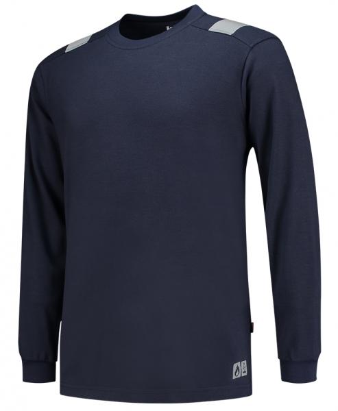 TRICORP-T-Shirt, Mulitnorm, langarm, 200 g/m², dunkelblau
