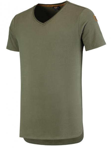 TRICORP-T-Shirts, Premium, V-Ausschnitt, 180 g/m², army