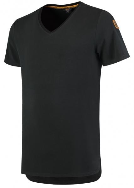 TRICORP-T-Shirts, Premium, V-Ausschnitt, 180 g/m², black