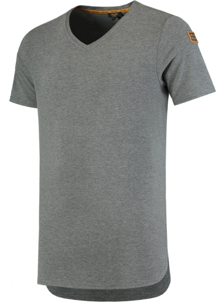 TRICORP-T-Shirts, Premium, V-Ausschnitt, 180 g/m², stonemel