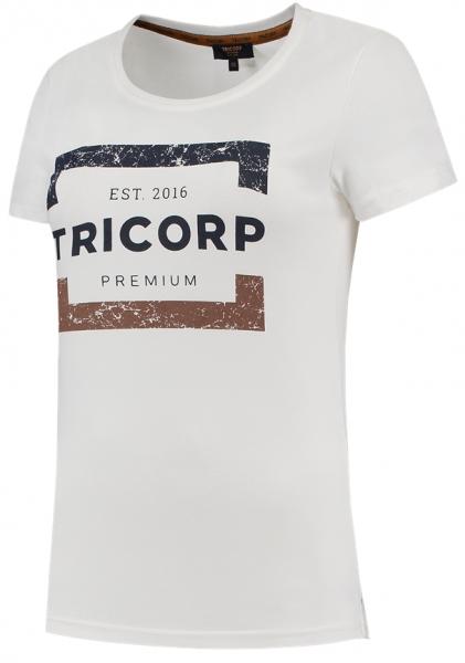 TRICORP-Damen-T-Shirts, Premium, 180 g/m², brightwhite