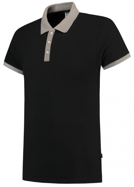 TRICORP-Poloshirts, Bicolor, 210 g/m², schwarz/grau