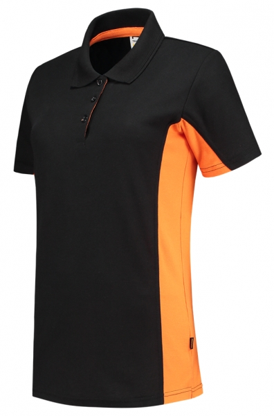 TRICORP-Damen-T-Shirt, Bicolor, 180 g/m², black-orange