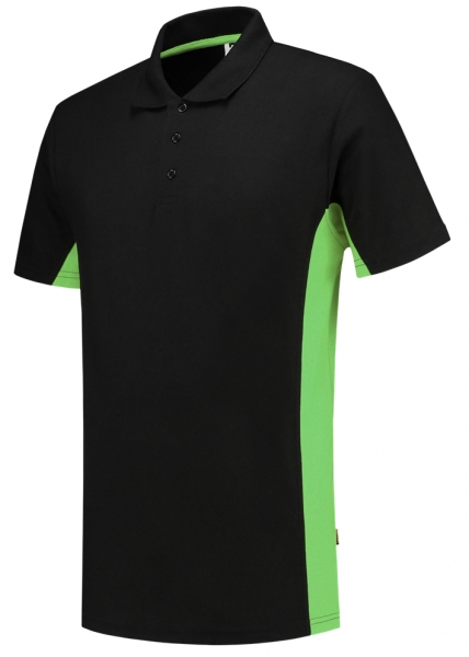 TRICORP-T-Shirt, Bicolor, 180 g/m², black-lime