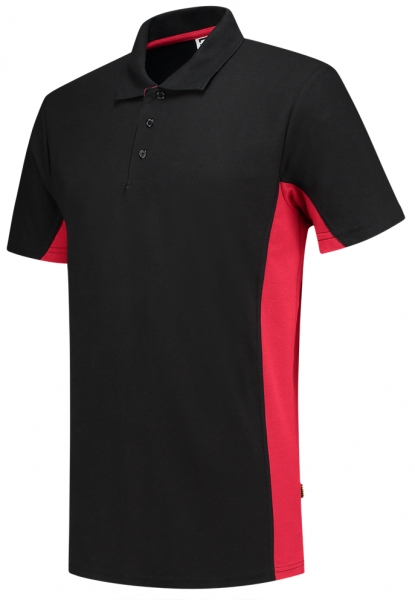 TRICORP-T-Shirt, Bicolor, 180 g/m², black-red