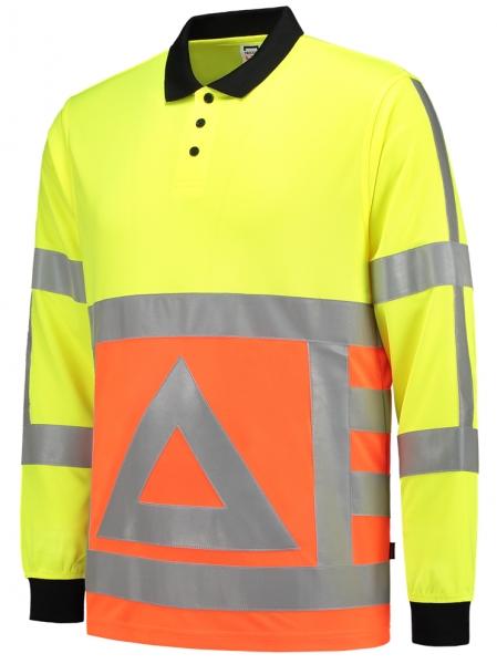 TRICORP-Warn-Schutz-Poloshirt für Verkehrsregler, 180 g/m², warngelb