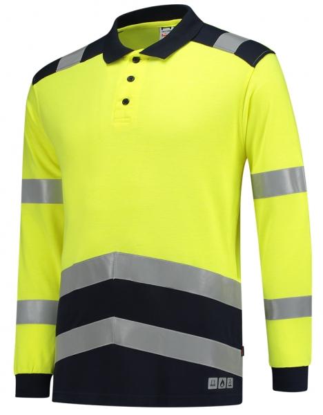 TRICORP-Warn-Schutz-Poloshirt, Multinorm, langarm, 200 g/m², warngelb