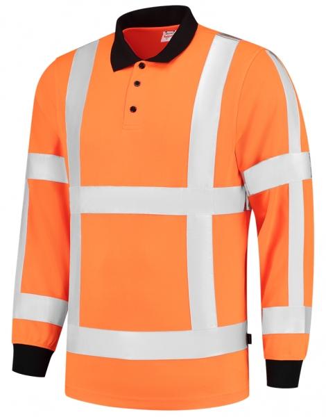 TRICORP-Warn-Schutz-Poloshirt, langarm, 180 g/m², warnorange