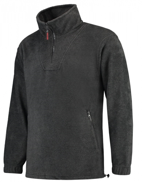 TRICORP-Fleece-Pullover, Basic Fit, 320 g/m², anthrazit meliert