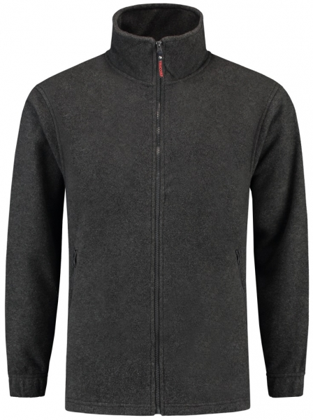 TRICORP-Fleece-Arbeits-Berufs-Jacke, Basic Fit, 320 g/m², anthrazit meliert