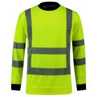TRICORP-Warn-Schutz-Sweatshirt, langarm, 260 g/m², warngelb