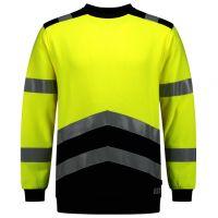 TRICORP-Warn-Schutz-Sweatshirt, Multinorm, langarm, 280 g/m², warngelb