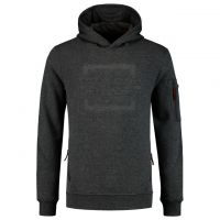 TRICORP-Hoodie, Arbeits-Berufs-Premium Sweater, Logo, 300 g/m², stonemel