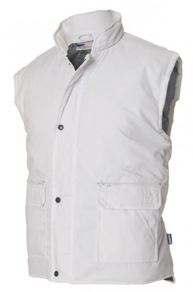 TRICORP-Bodywarmer, Winter-Arbeits-Berufs-Weste, Funktionsweste, Basic Fit, 160 g/m², weiß