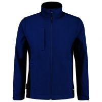 TRICORP-Softshelljacke, Bicolor, 340 g/m², royalblue-navy