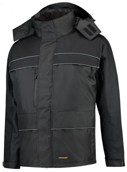 TRICORP-Winter-Arbeits-Berufs-Parka, Cordura-Besatz, Basic Fit, 200 g/m², black