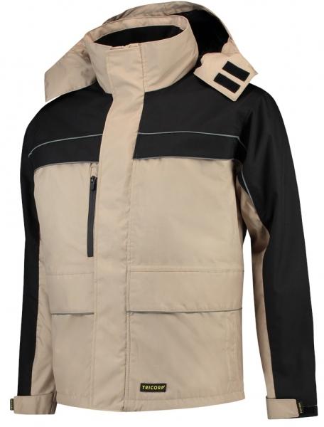 TRICORP-Winter-Arbeits-Berufs-Parka, Cordura-Besatz, Basic Fit, 200 g/m², khaki-black