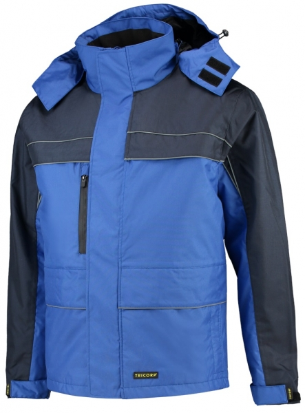 TRICORP-Winter-Arbeits-Berufs-Parka, Cordura-Besatz, Basic Fit, 200 g/m², royalblue-navy