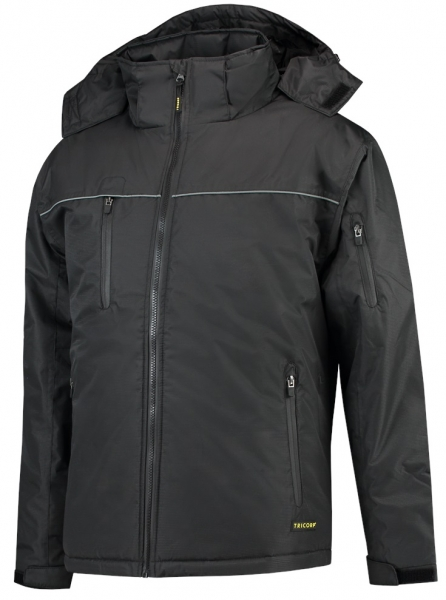 TRICORP--Winter-Arbeits-Berufs-Midi Parka, Basic Fit, 160 g/m², black