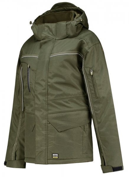 TRICORP-Midi Parka Canvas, Basic Fit, 300 g/m², army
