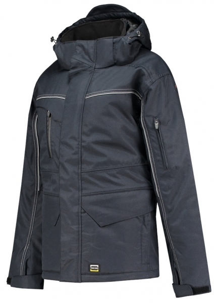 TRICORP--Winter-Arbeits-Berufs-Midi Parka Canvas, Basic Fit, 300 g/m², navy