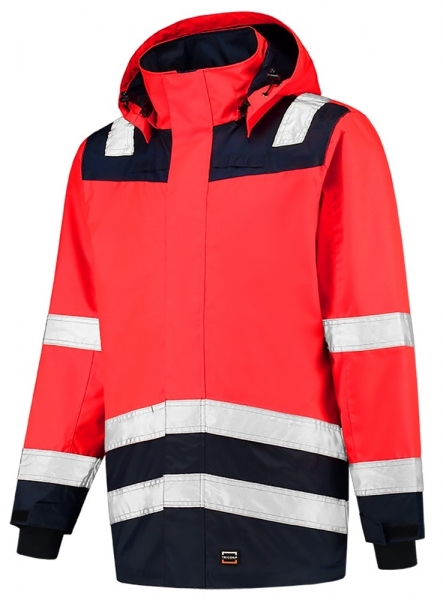 TRICORP-Warnschutz-Parka, Bicolor, 200 g/m², red-ink