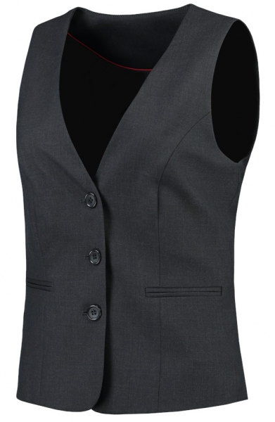 TRICORP-Damen-Arbeits-Berufs-Weste, Basic Fit, 180 g/m², grey