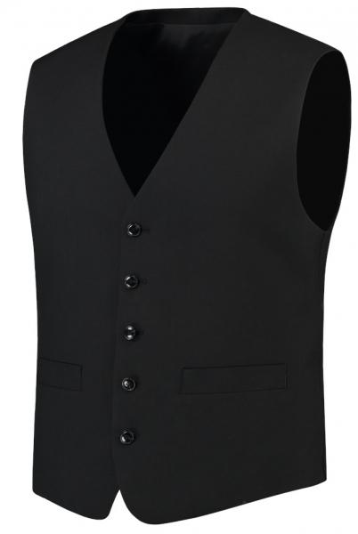 TRICORP-Herren-Arbeits-Berufs-Weste, Basic Fit, 180 g/m², black