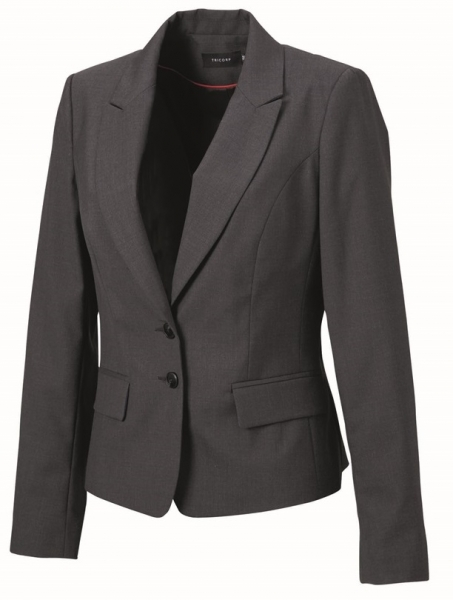 TRICORP-Blazer Damen, Basic Fit, 270 g/m², grey