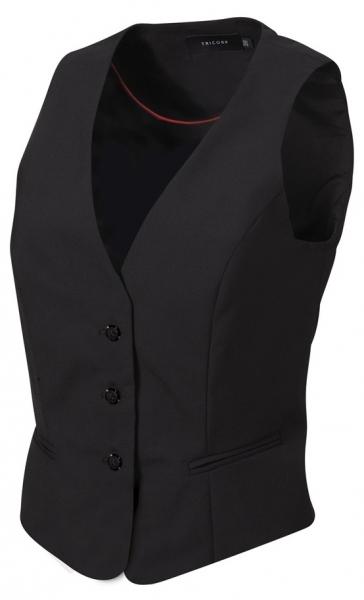 TRICORP-Weste Damen, Basic Fit, 270 g/m², black